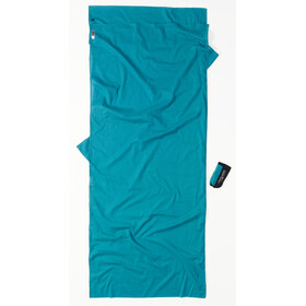 Cocoon Insect Shield TravelSheet Inlet Egyptian Cotton, laguna blue